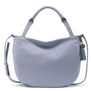 🆕 The Sak pebbled leather lavender crossbody bag